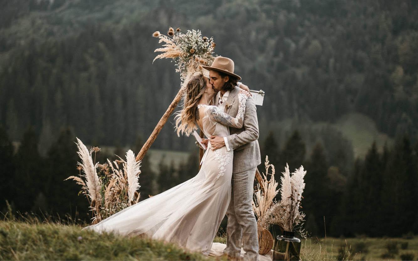 Hochzeit auf den Bergen