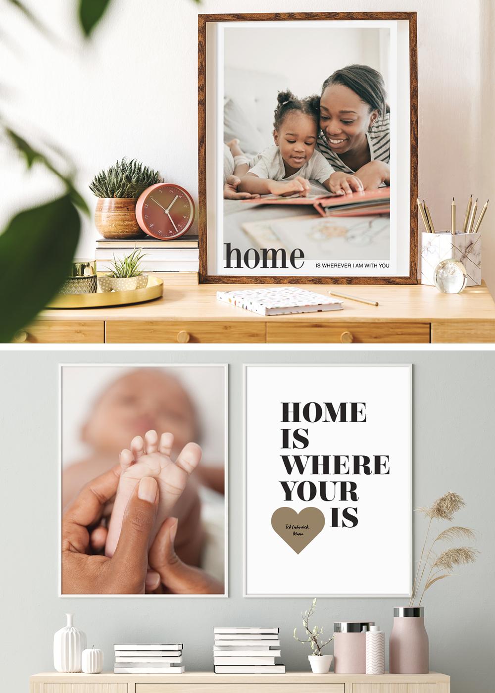 Fotogeschenke Muttertag