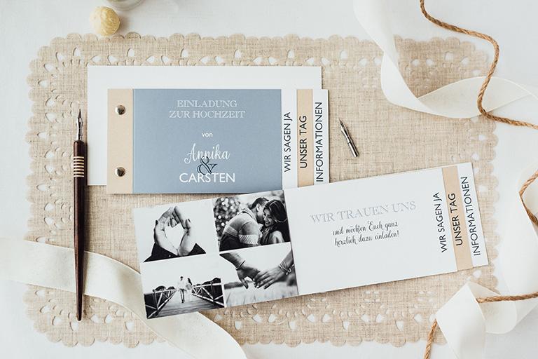 Einladungen Geben Ihrer Hochzeit Schon Vorab Einen Besonderen Rahmen (Hier  Im Bild Unsere Papeterie Serie U201eMixed Upu201e)