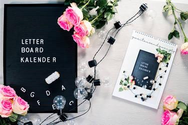 Letterboard und Flexkalender