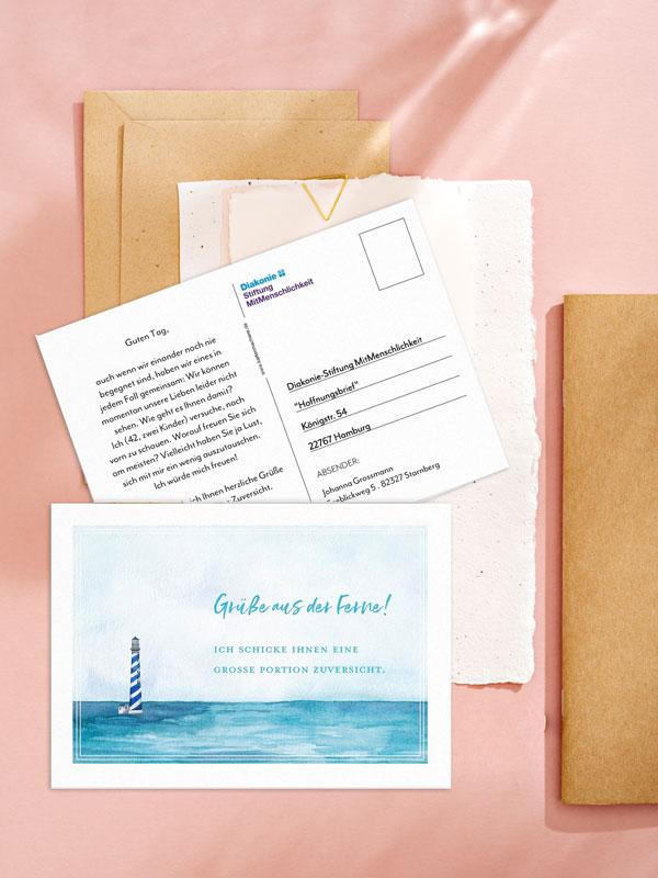 Hoffnungsbrief an Senioren schreiben