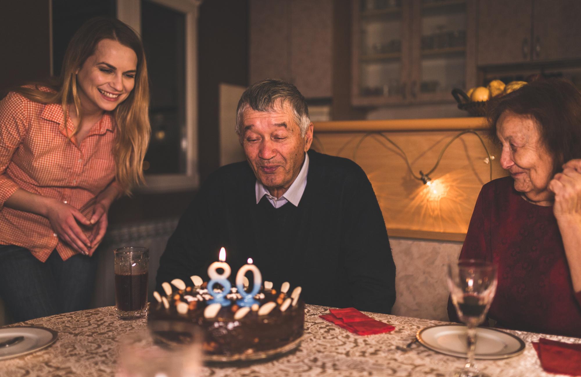Geburtstagswünsche 80 jahre