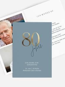 Geburtstagswunsche 80 onkel