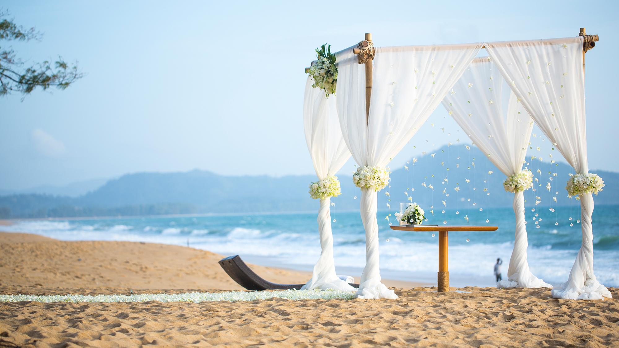 Hochzeit am strand berlin