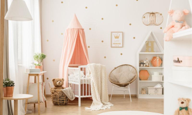 Babyzimmer richtig einrichten: Darauf musst du achten