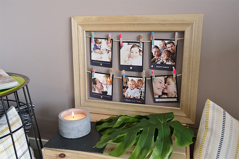 die 10 sch nsten diy ideen f r ihre polaroid wanddekoration. Black Bedroom Furniture Sets. Home Design Ideas