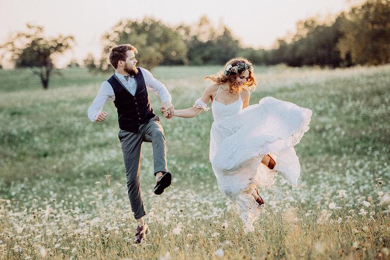 Hochzeitstrend Natural Vintage Raum Fur Eigene Geschichten