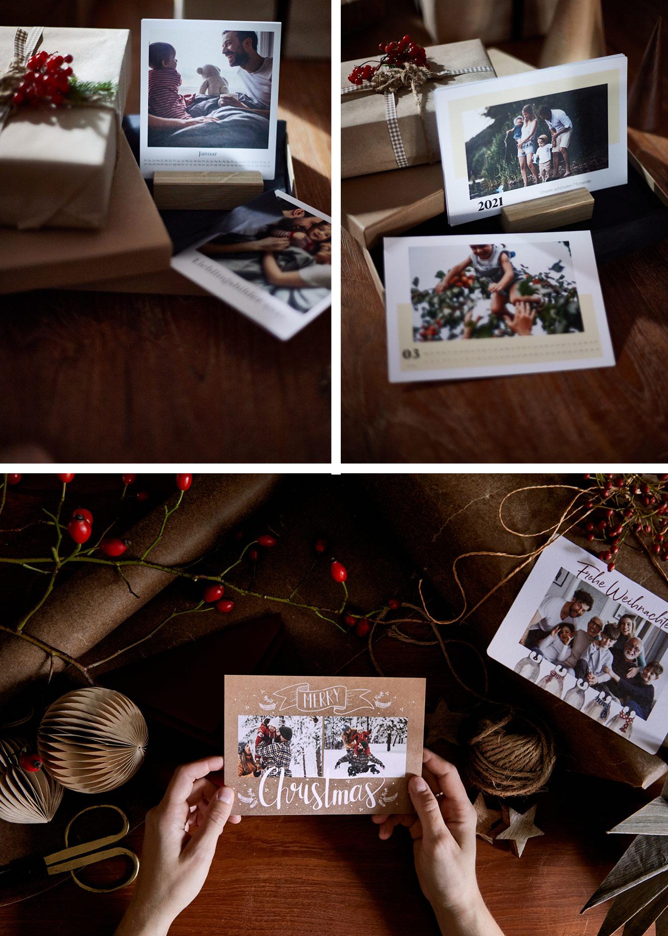 Fotogeschenke für Weihnachten