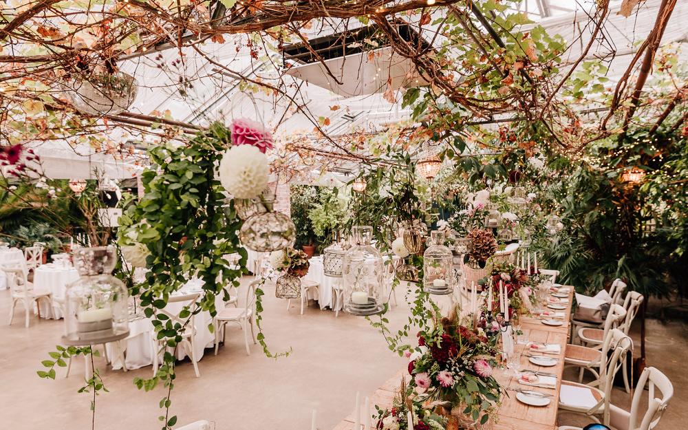 Gärtnerei als Hochzeitslocation