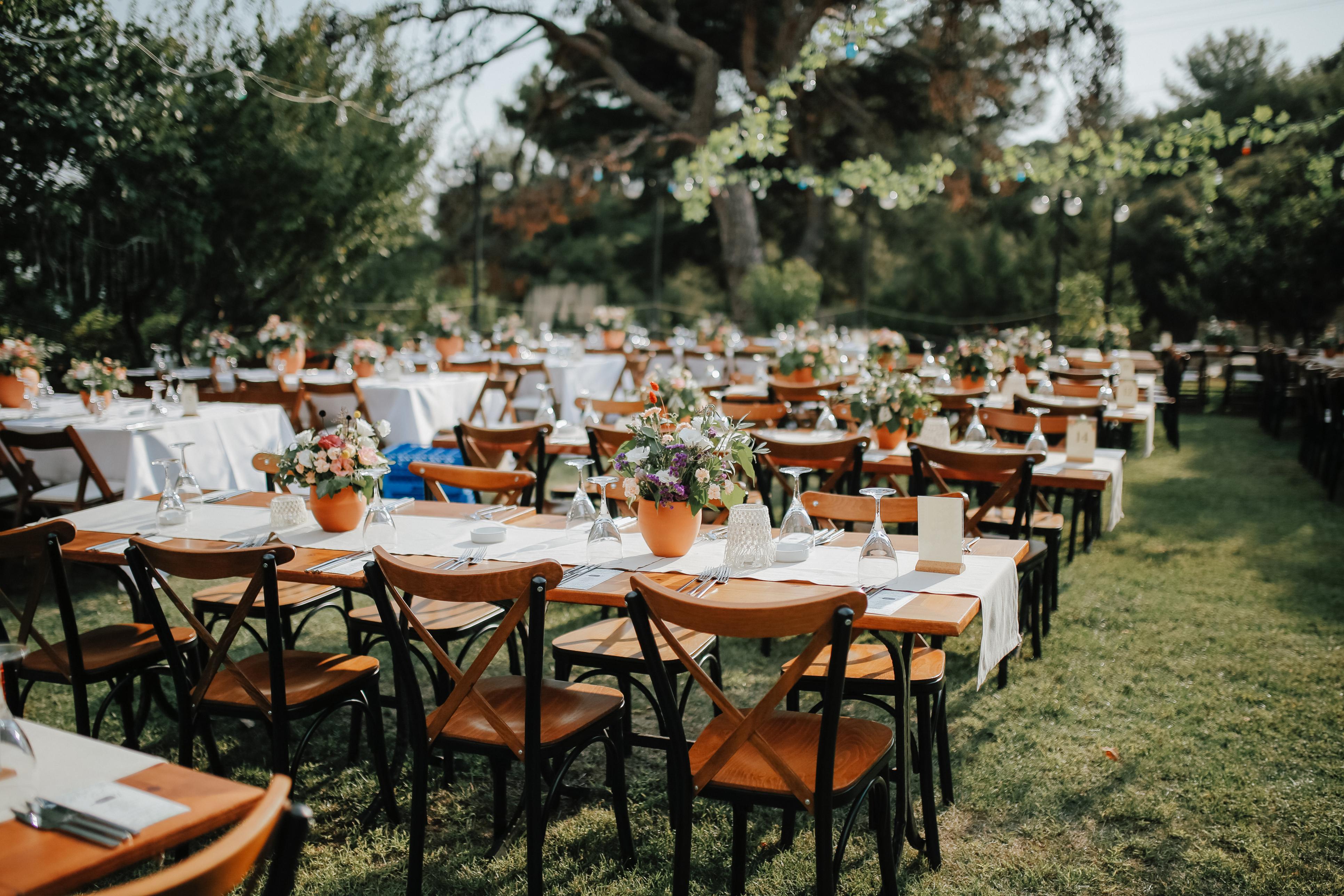 Hochzeit im Garten, Coronavirus