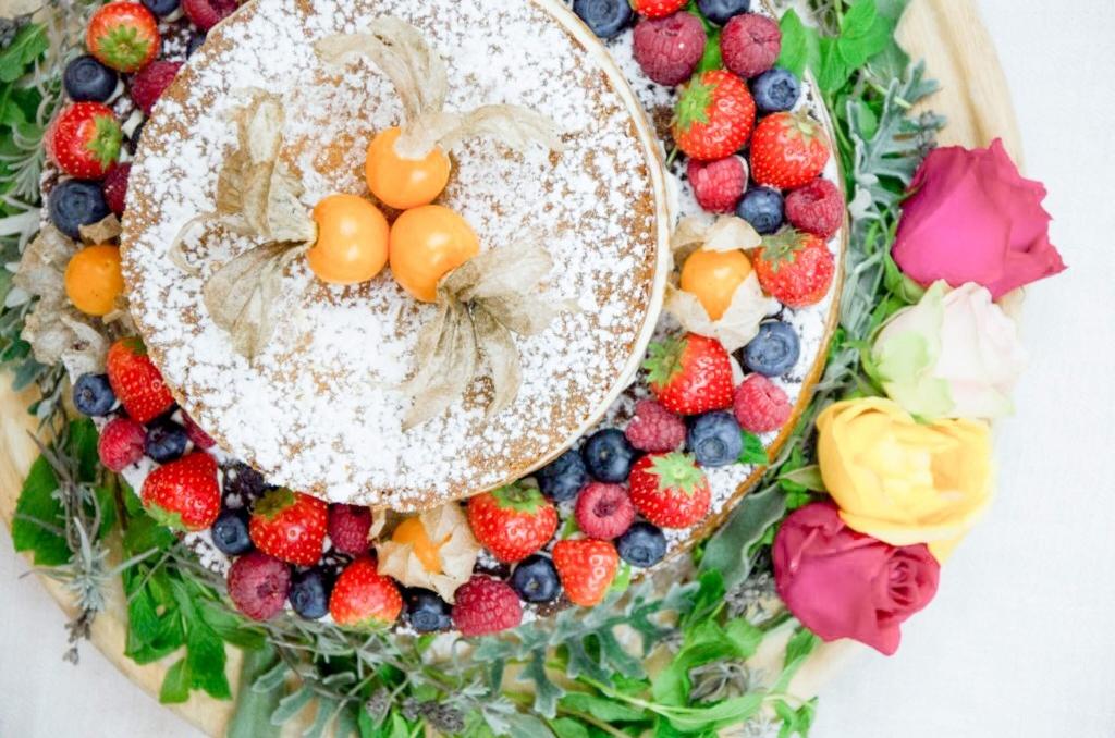 Baking Barbarines Vanilletopfen-Naked-Cake