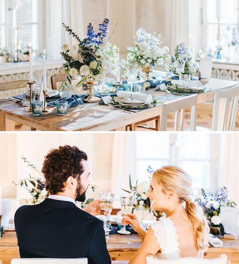 Klassisch Elegante Hochzeit Mit Einem Hauch Boho