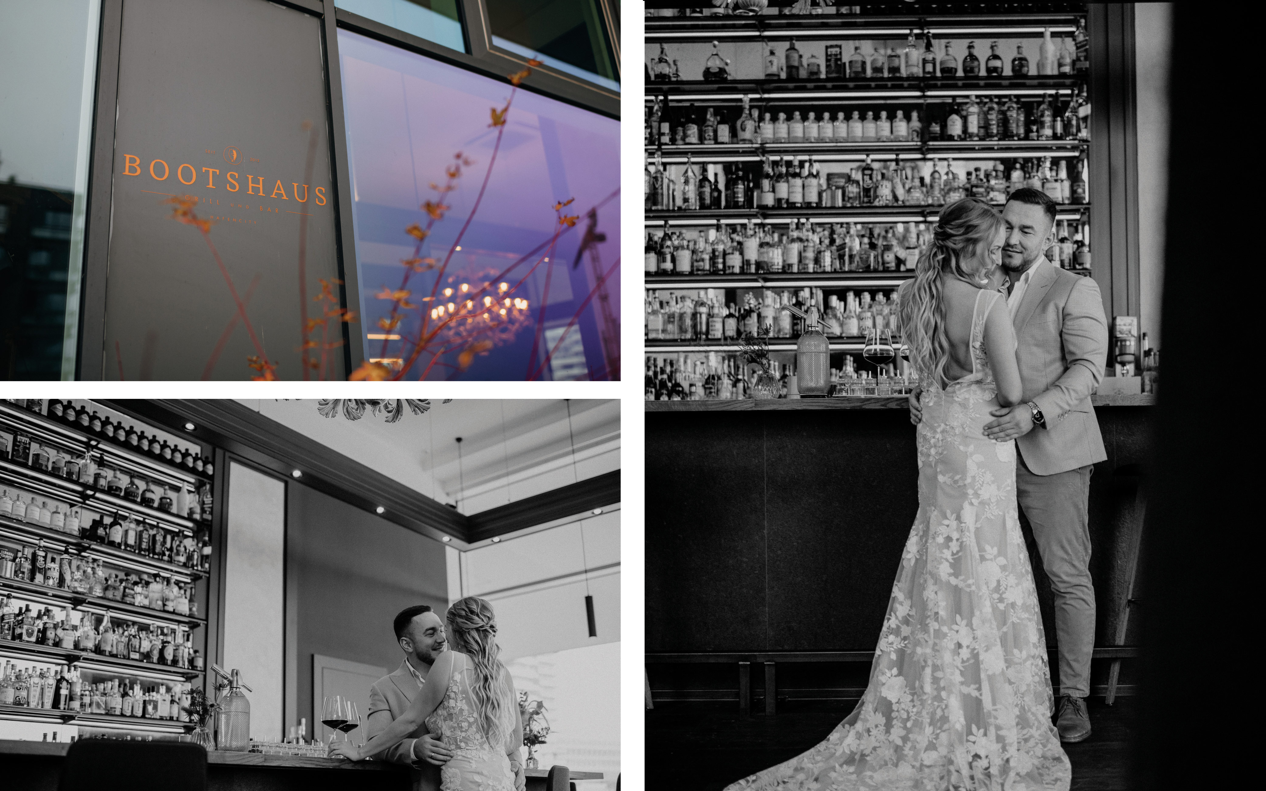 Hochzeit in der Stadt Hamburg