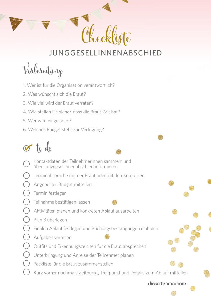 Junggesellinnenabschied 30 Ideen Für Jeden Brauttyp