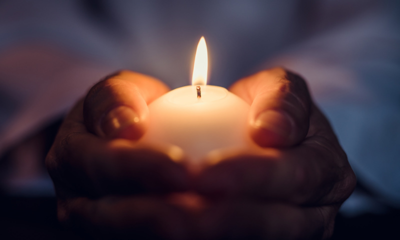 Kerzen Trauer Bilder
