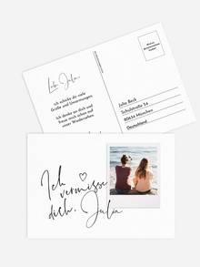 Postkarte direkt versenden
