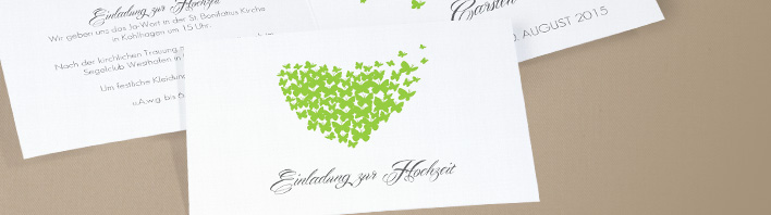 Hochzeitseinladungen Einladungskarten Hochzeit