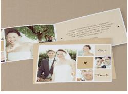 Neue Hochzeitsdankeskarten