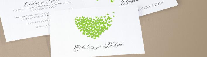 Fertige Texte für Ihre Hochzeitseinladungen